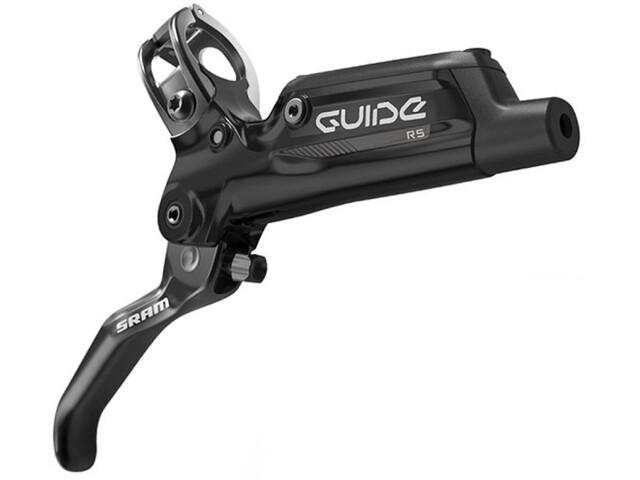 SRAM Guide RS Levier de frein aluminium, olive/pièces de raccordement incluses, black